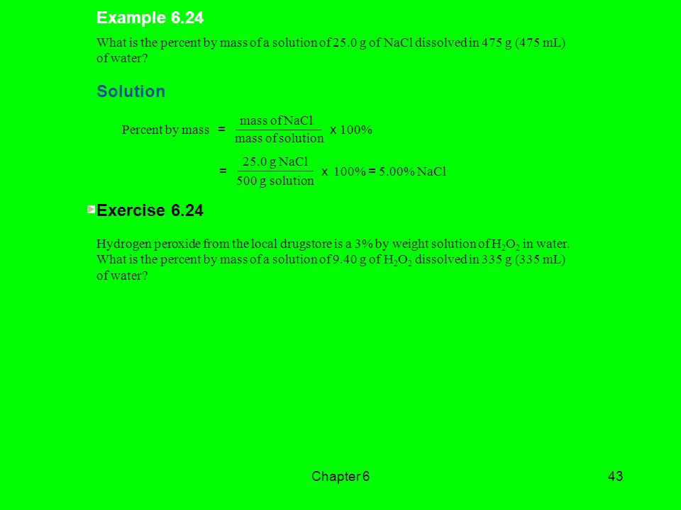 Example 6.24 Solution Exercise 6.24