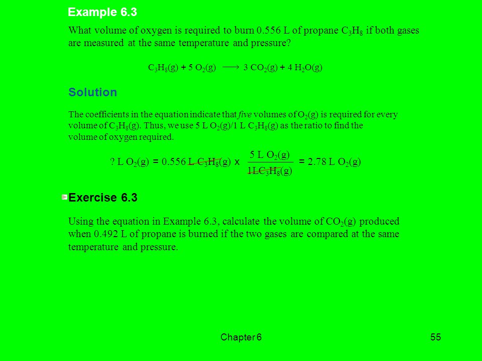 Example 6.3 Solution Exercise 6.3
