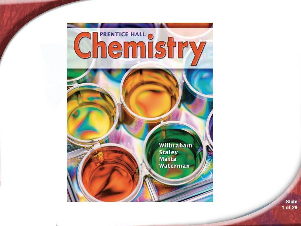 Chemistry 13.1