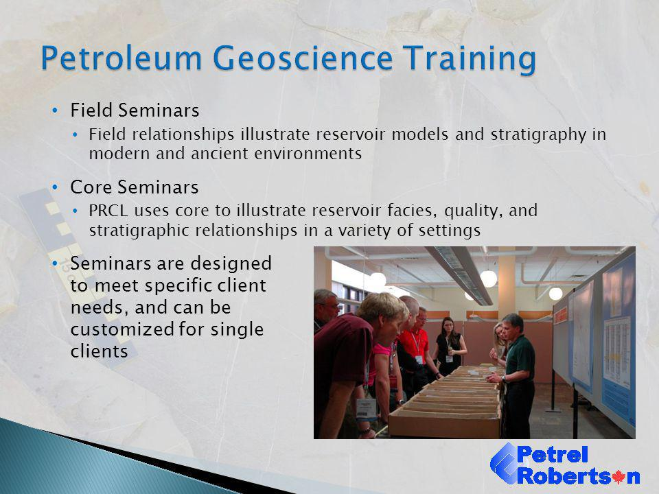 Petroleum Geoscience Training