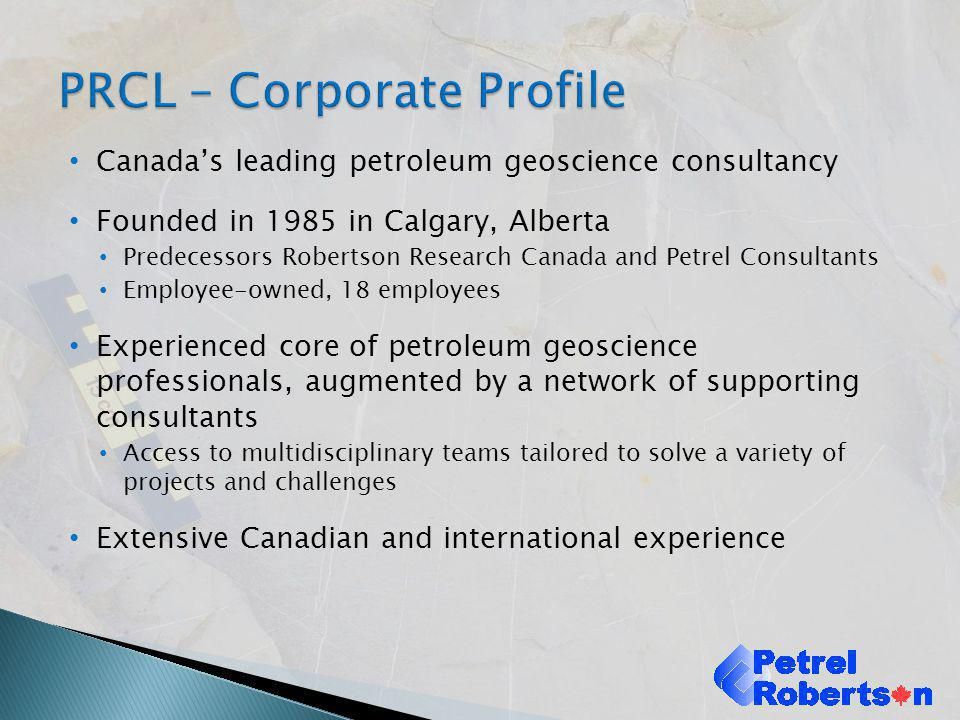 PRCL – Corporate Profile