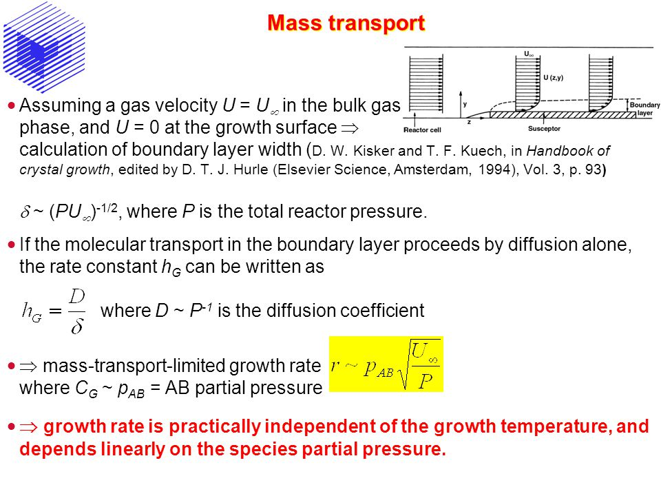 Mass transport