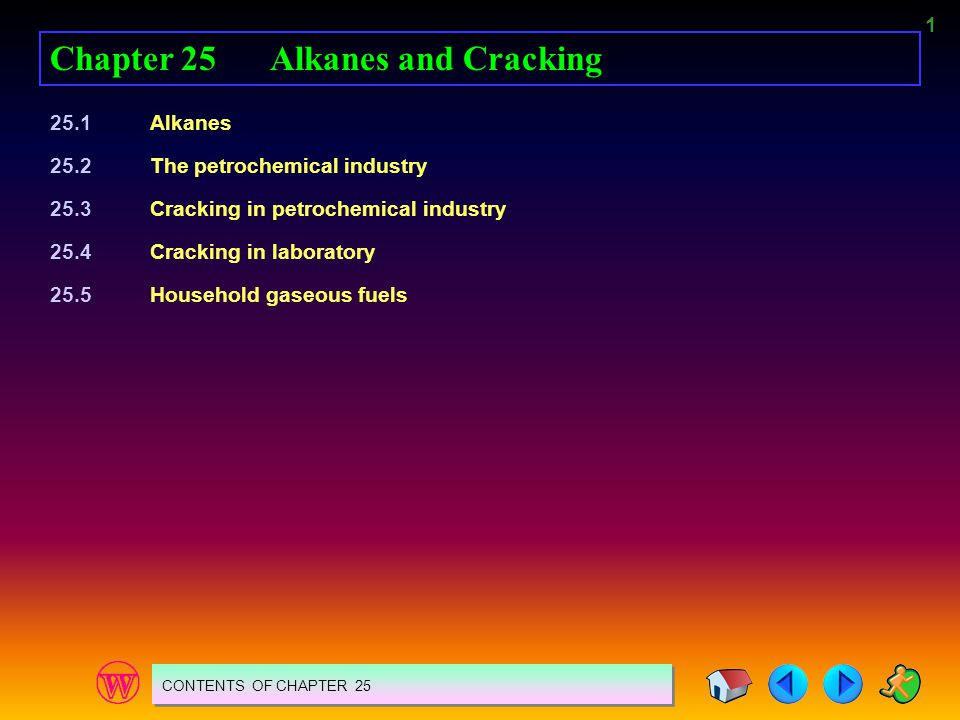 Chapter 25 Alkanes and Cracking
