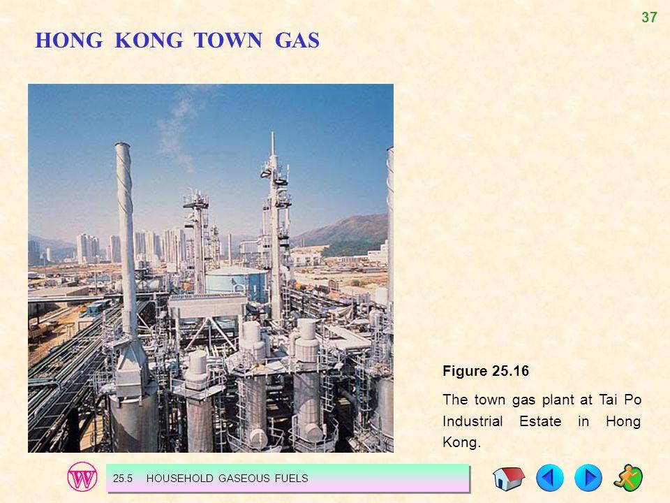 HONG KONG TOWN GAS Figure 25.16