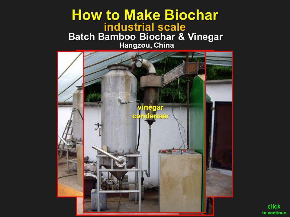 Batch Bamboo Biochar & Vinegar