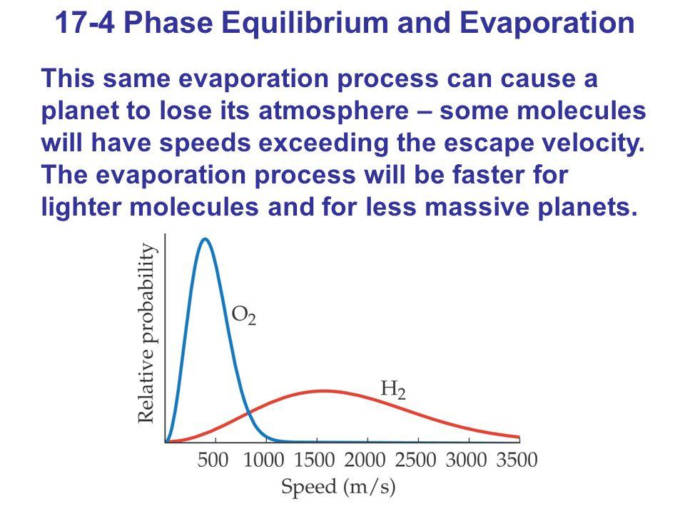17-4 Phase Equilibrium and Evaporation