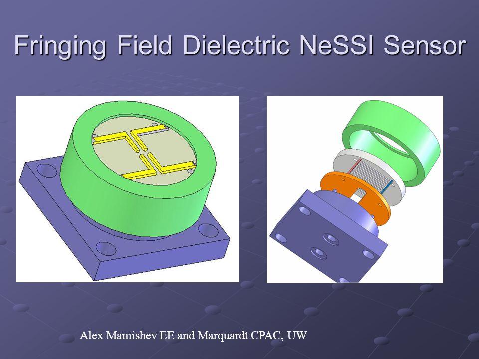 Fringing Field Dielectric NeSSI Sensor