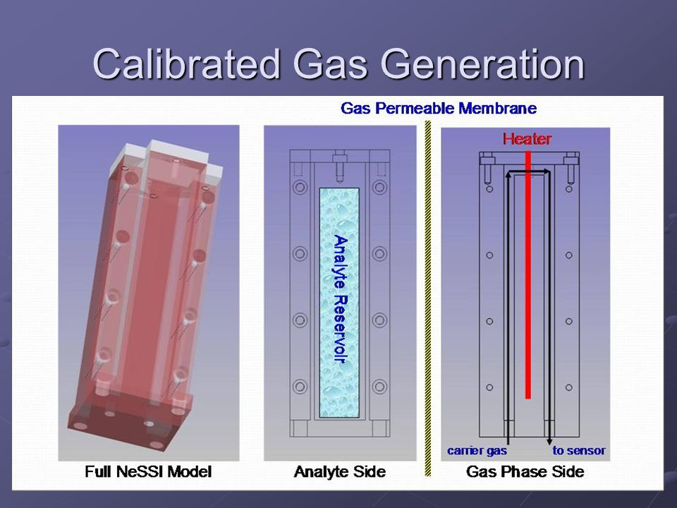 Calibrated Gas Generation