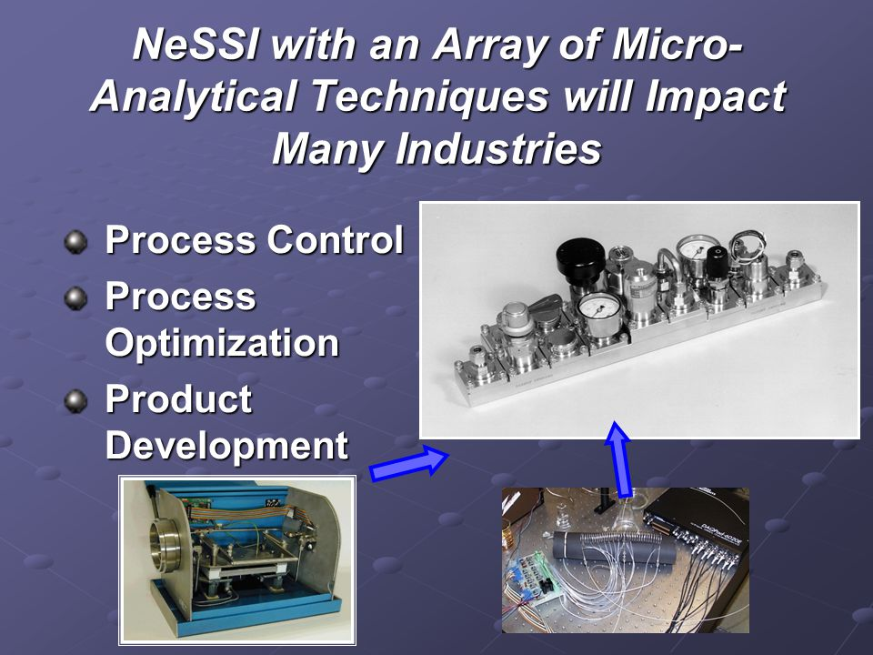 NeSSI with an Array of Micro-Analytical Techniques will Impact Many Industries