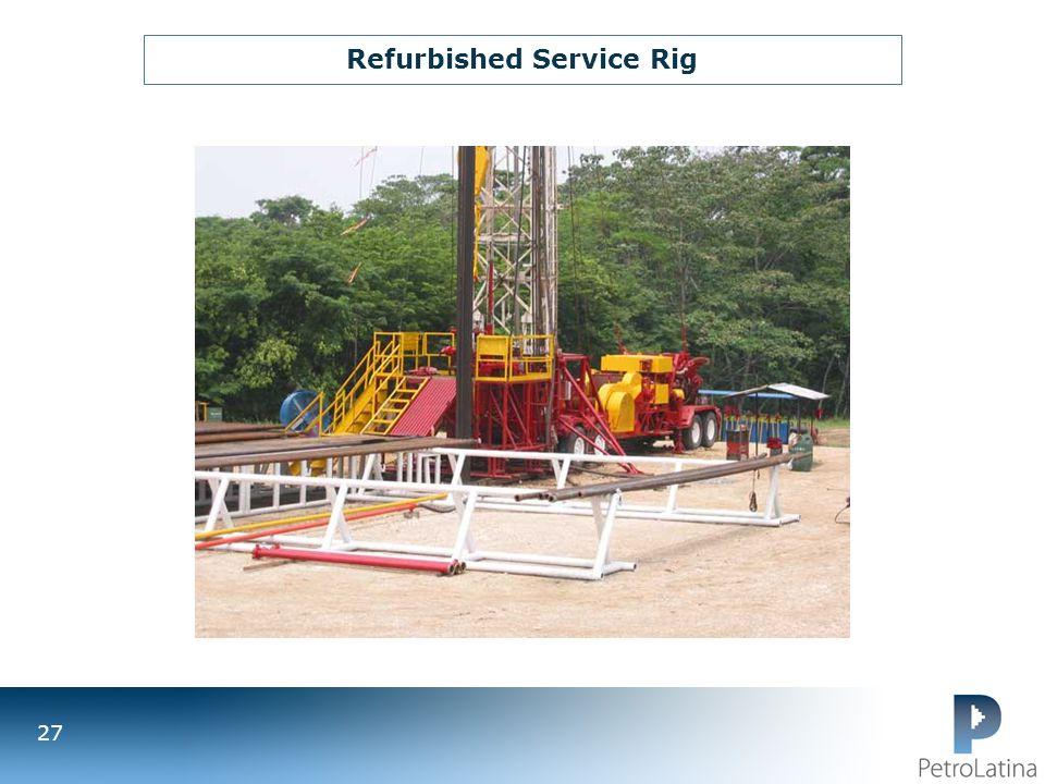 Refurbished Service Rig