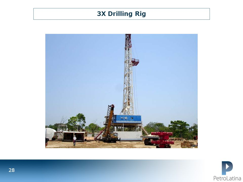 3X Drilling Rig