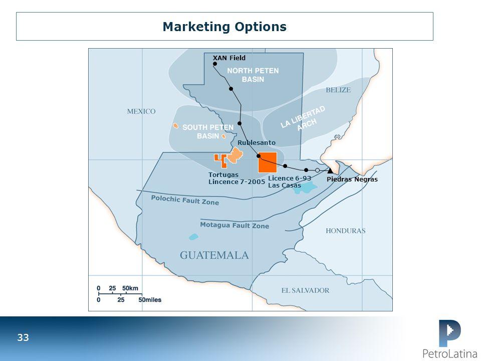 Marketing Options XAN Field Rublesanto Tortugas Lincence 7-2005