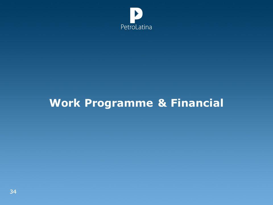 Work Programme & Financial