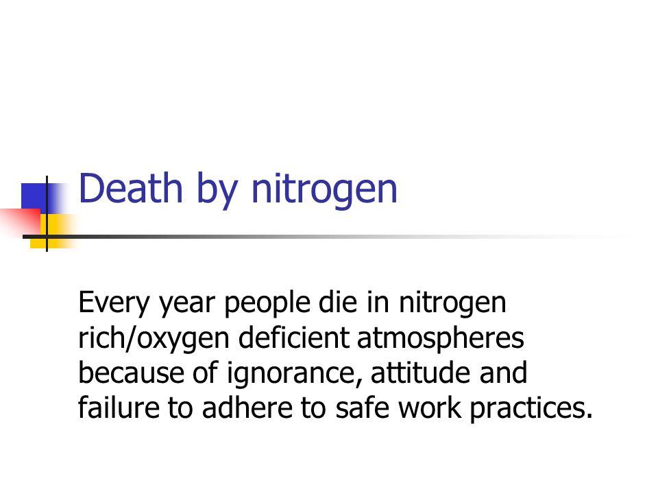 Death by nitrogen