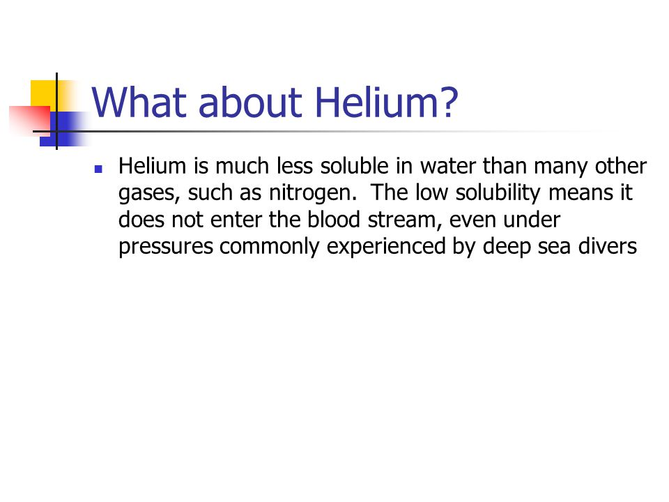 What about Helium