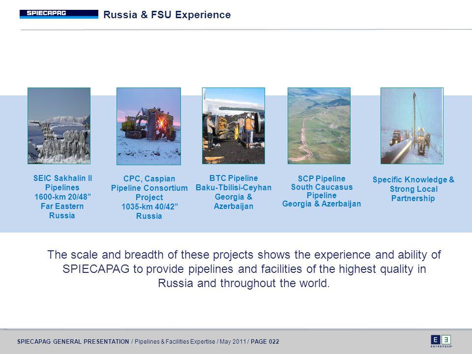 Russia & FSU Experience