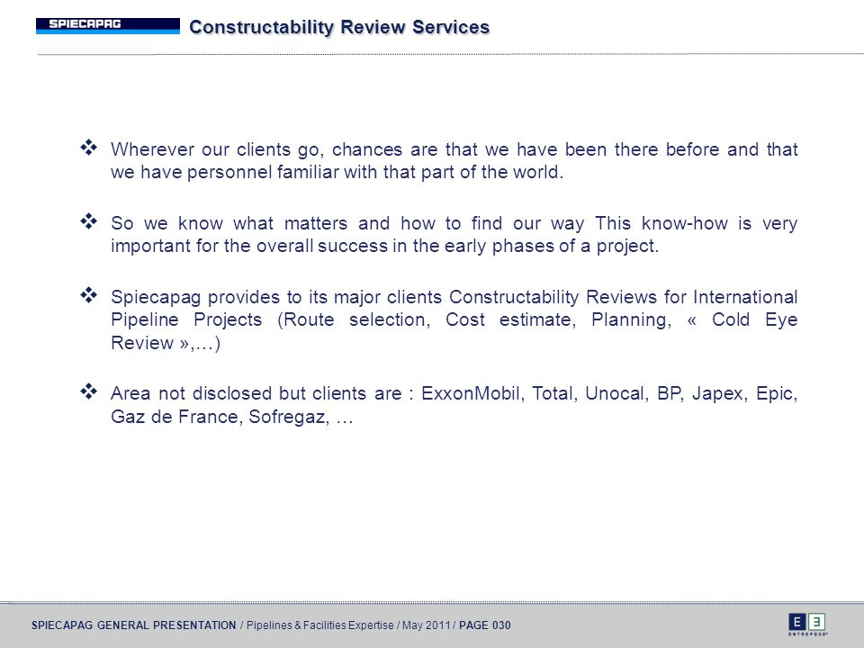 Constructability Review Services