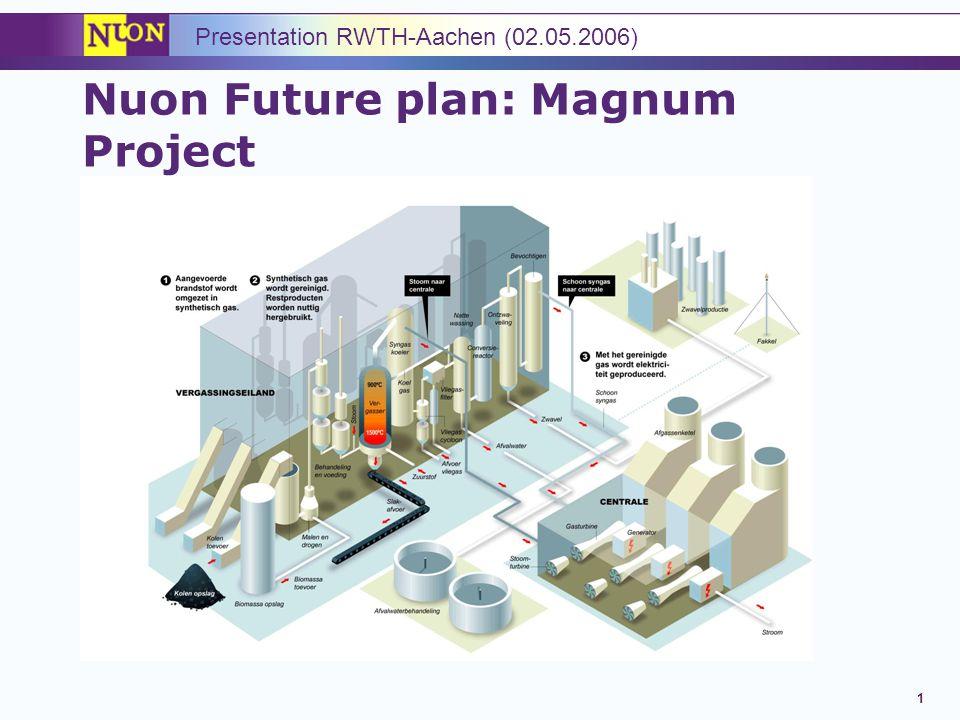 Nuon Future plan: Magnum Project