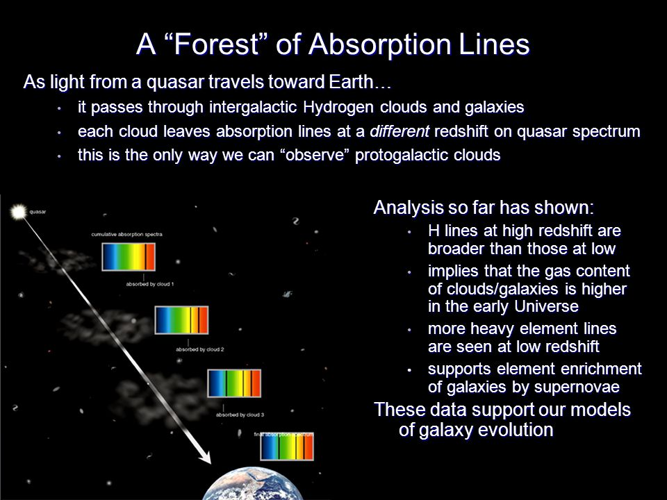 A Forest of Absorption Lines