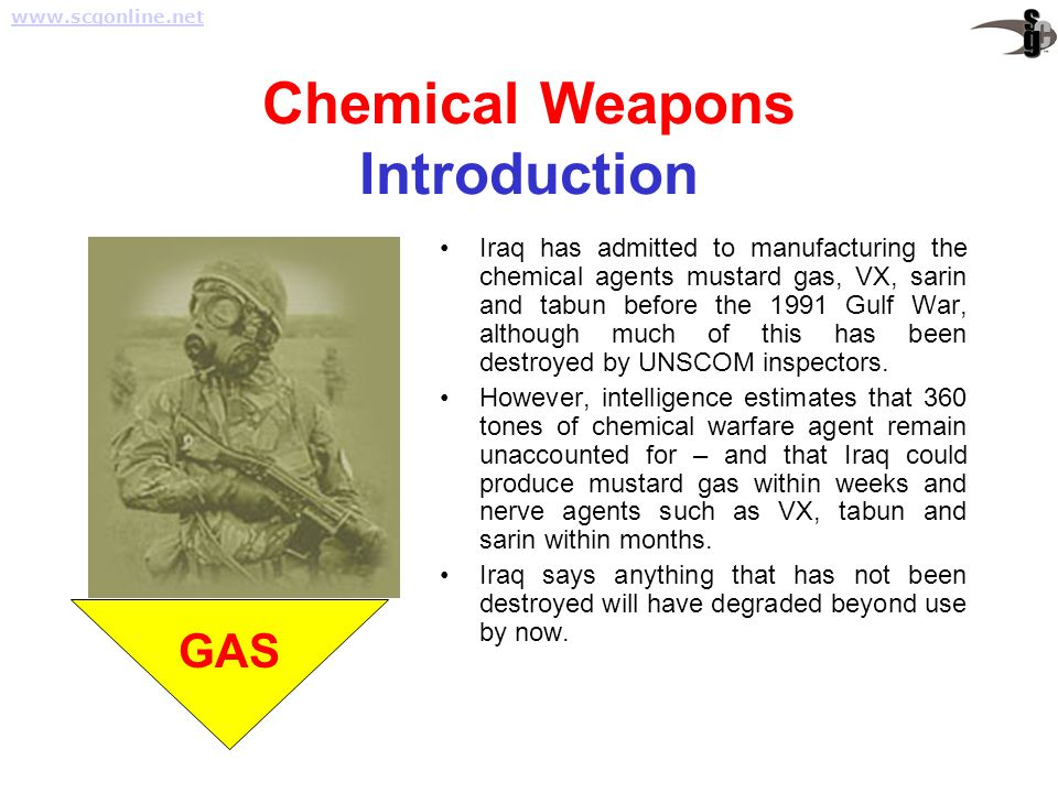 Chemical Weapons Introduction