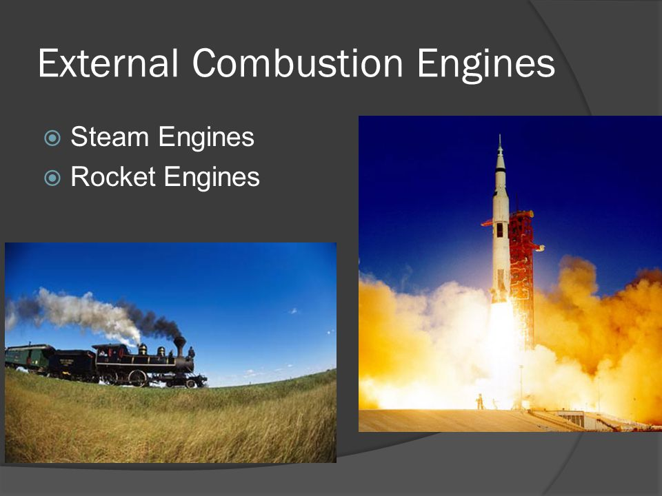 External Combustion Engines