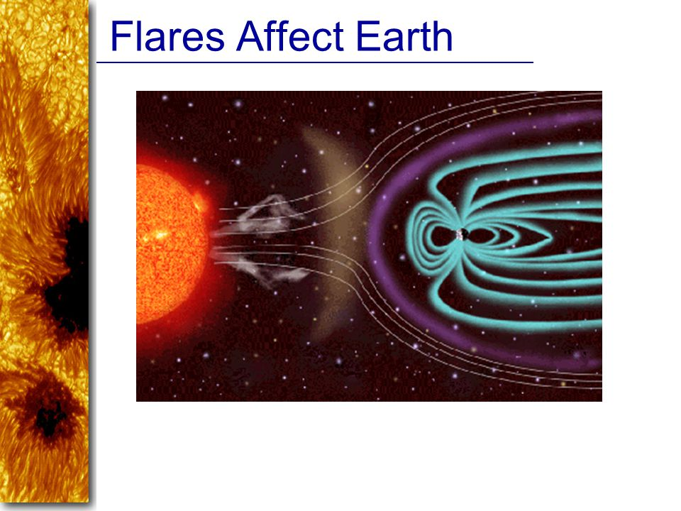 Flares Affect Earth