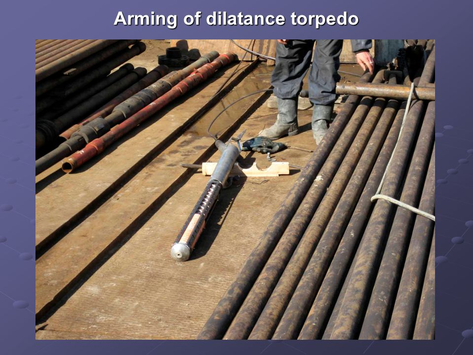 Arming of dilatance torpedo