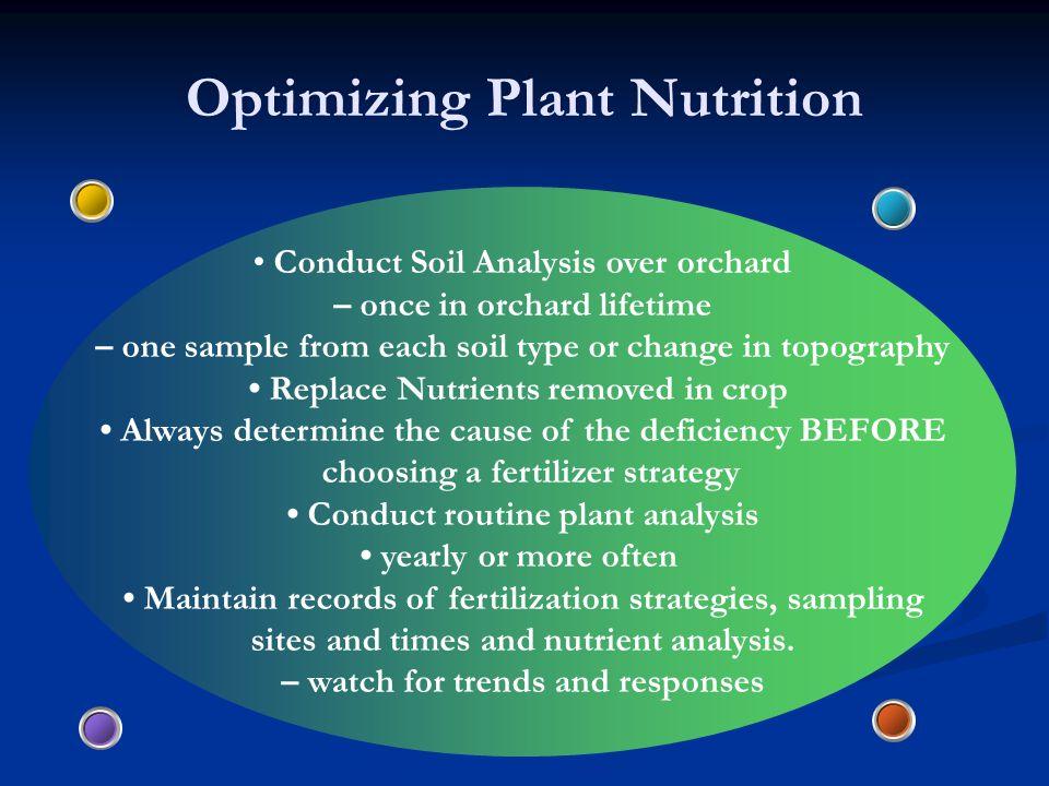 Optimizing Plant Nutrition