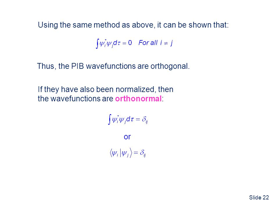Using the same method as above, it can be shown that: