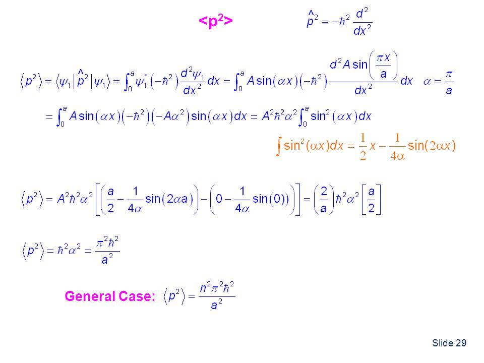 <p2> ^ ^ General Case: