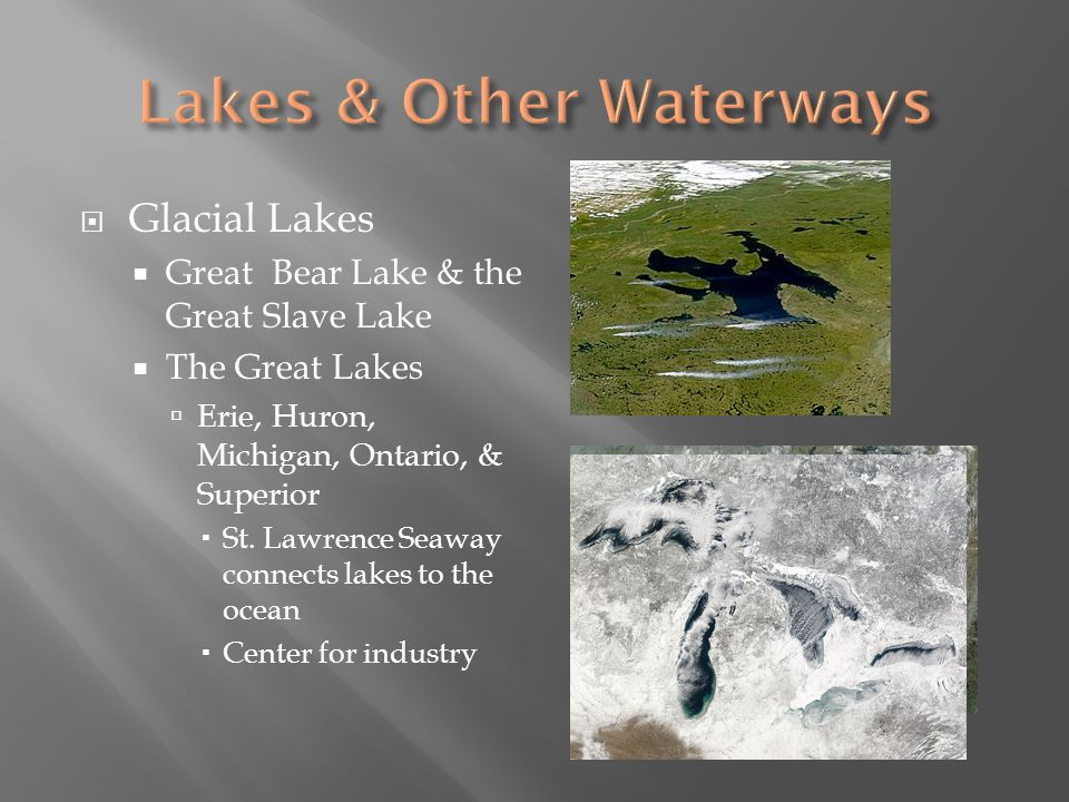 Lakes & Other Waterways