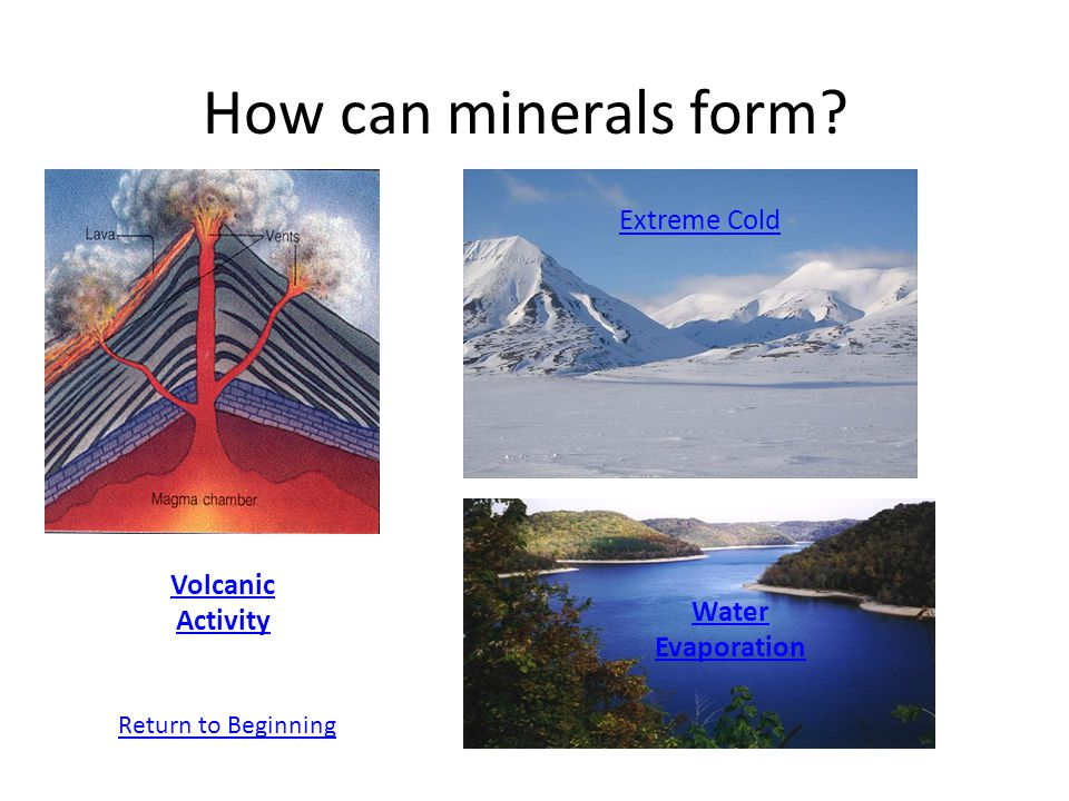 What is a mineral? How do minerals form? - ppt download