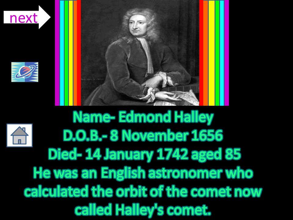 D.O.B.- 8 November 1656 Died- 14 January 1742 aged 85