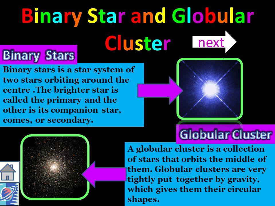 Binary Star and Globular Cluster