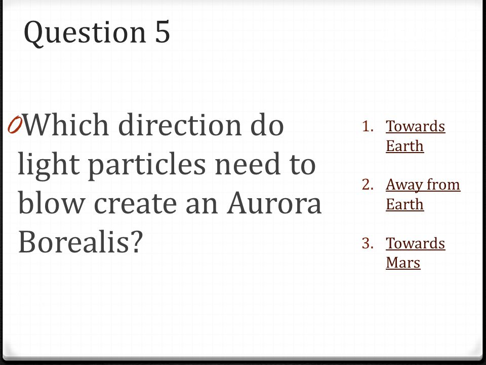 Question 5 Please choose the correct answer. You must choose the correct one to move on!