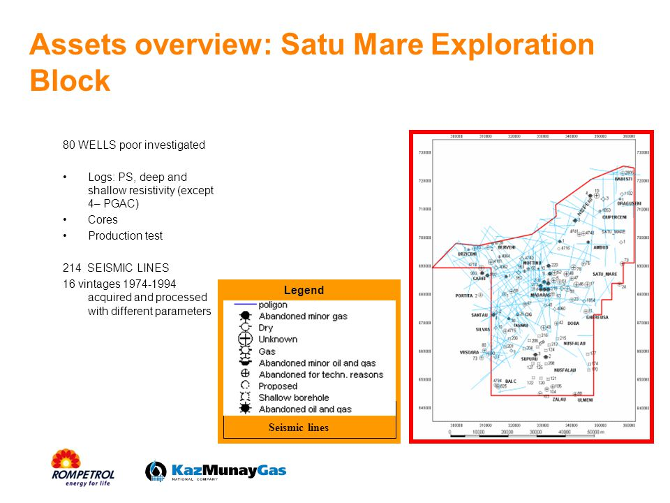 Assets overview: Satu Mare Exploration Block