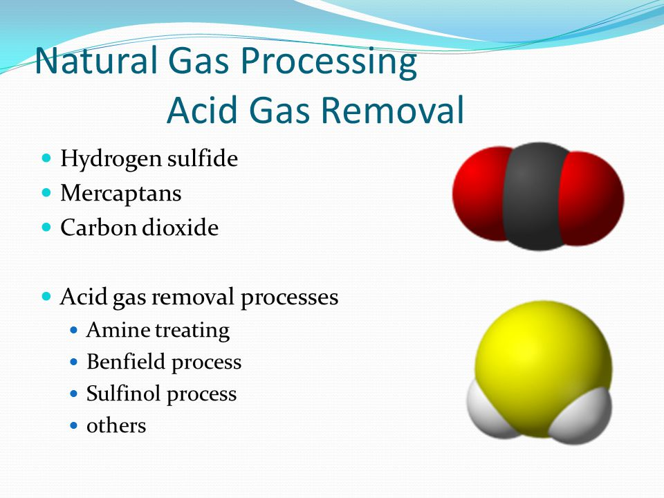 Natural Gas Processing Acid Gas Removal