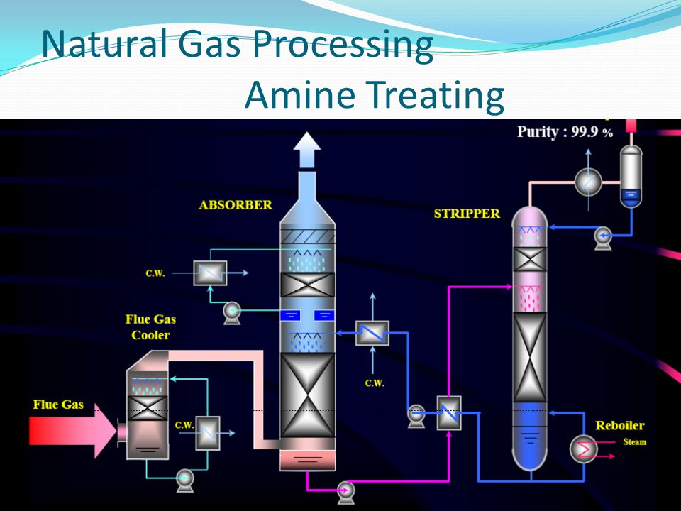 Natural Gas Processing Amine Treating