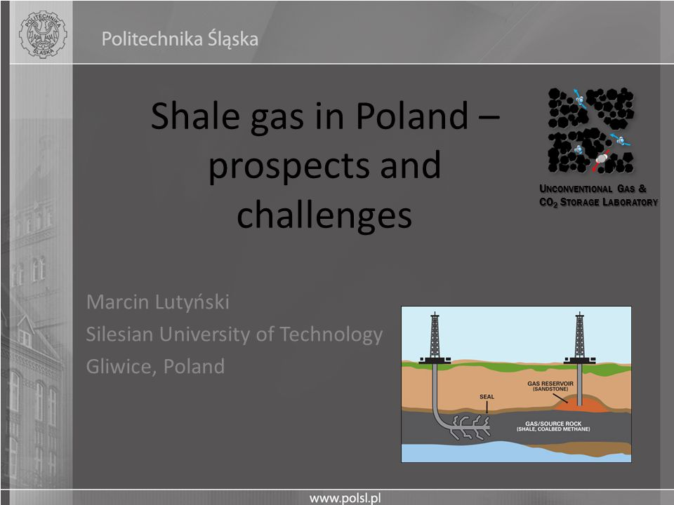 Shale gas in Poland – prospects and challenges