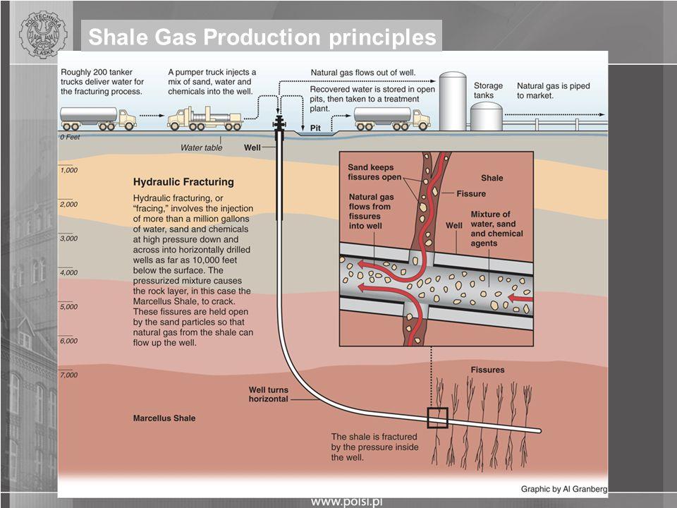Shale Gas Production principles