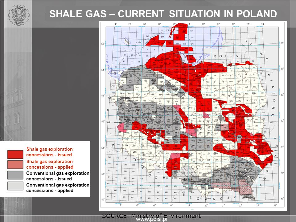 SHALE GAS – CURRENT SITUATION IN POLAND