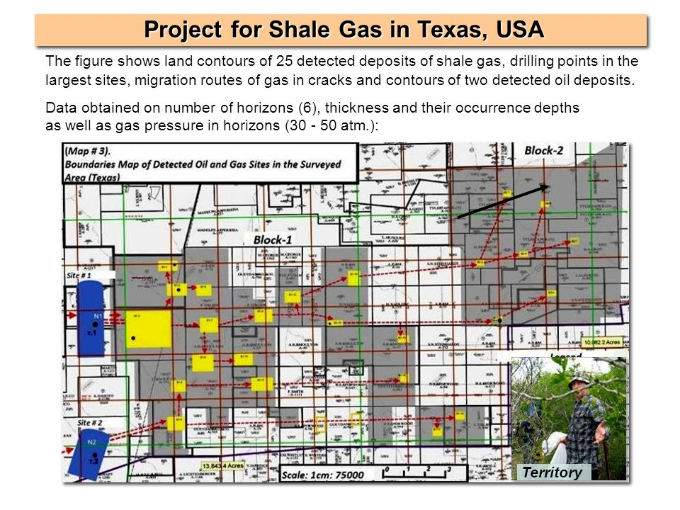 Project for Shale Gas in Texas, USA