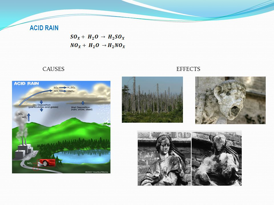 ACID RAIN CAUSES EFFECTS
