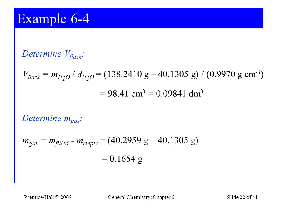 General Chemistry: Chapter 6