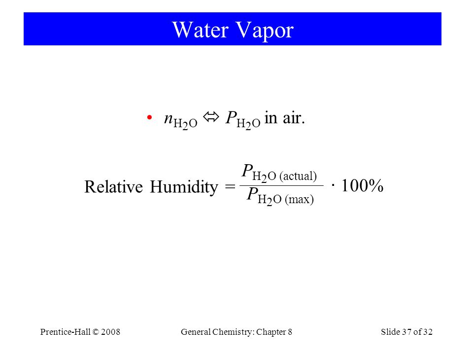 General Chemistry: Chapter 8