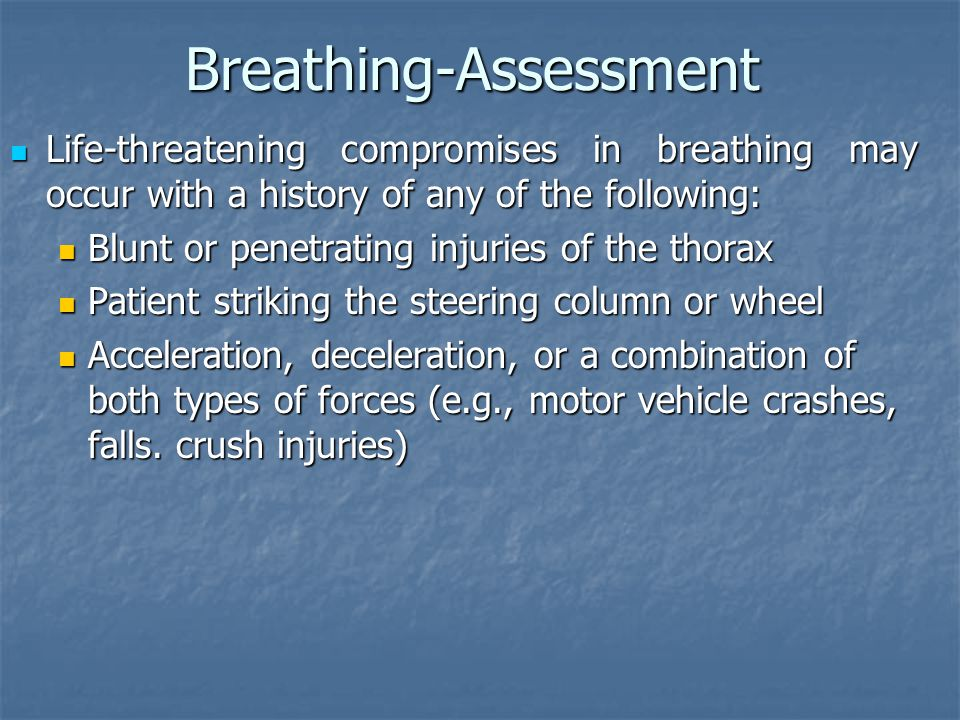 Breathing-Assessment