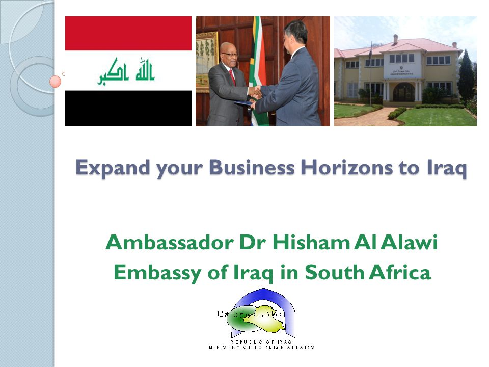 Expand your Business Horizons to Iraq