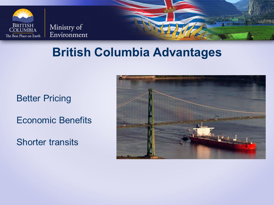 British Columbia Advantages