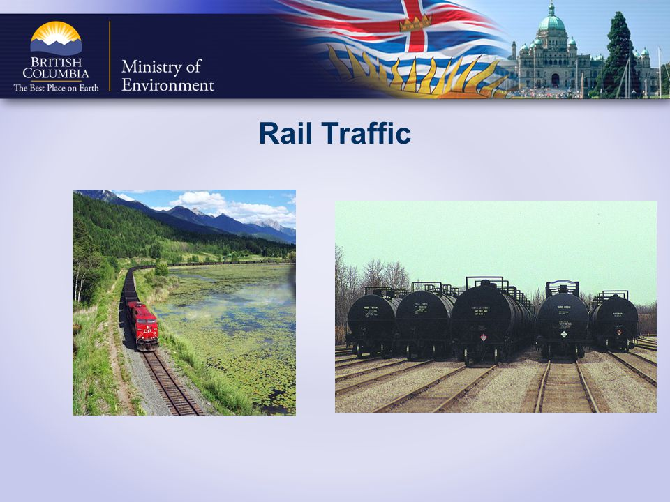 Rail Traffic Canada has two major rail operators, Canadian National (CN) and Canadian Pacific (CP) which transport Canadian coal.