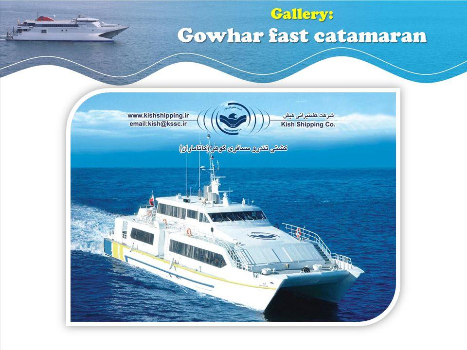Gallery: Gowhar fast catamaran